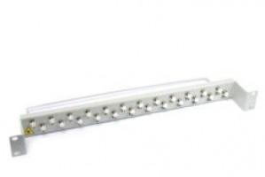 Optical Fibre coupler Patch Panel 1U Multimode FC 24 port