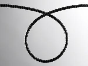 Cabinet optical fibre protection tubing – 6.35mm Black