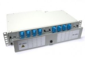 Fibre splice Patch Panel 2U 48 Way SC Singlemode - adaptors & pigtails