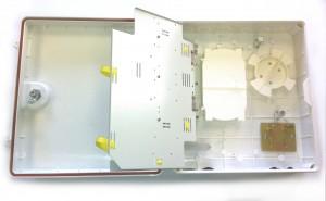 48 Way IP65 Wall mount Fibre FTTH termination enclosure - unloaded