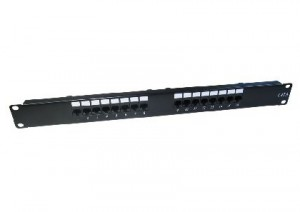 16 port Cat6 patch panel - punch down