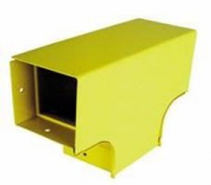 Vertical Tee Reducer with Divider 100 to 50 mm