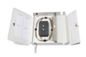 Fibre Optic Wall Splice Patch Box 48 Way FC unloaded