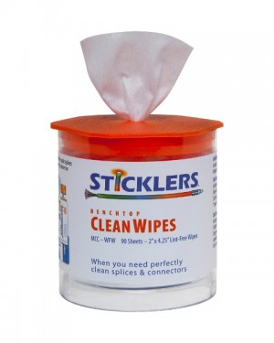 Sticklers Fibre care Lint-Free Wipes - Tub