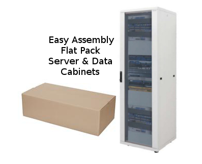 Flat Pack Data Cabinets