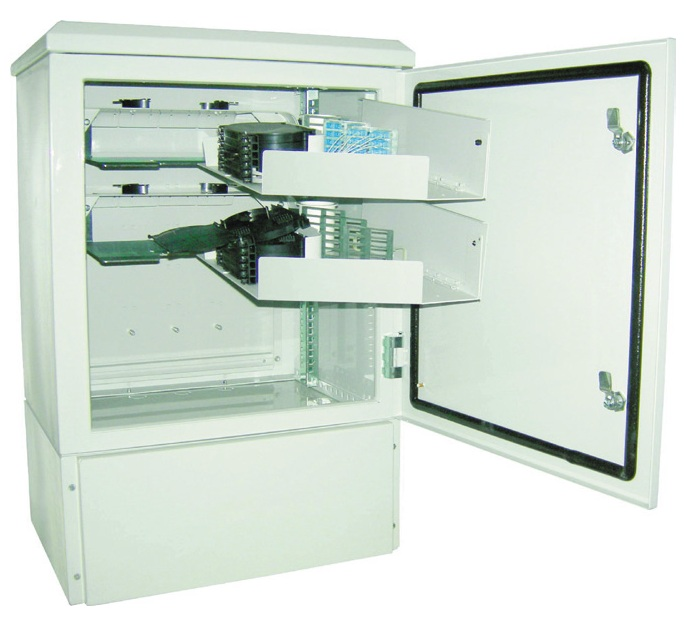 IP65 Fibre FTTX Splice and Patch Outdoor Cabinet