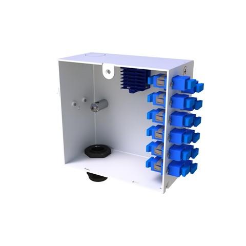 Din Rail Fibre Termination Box