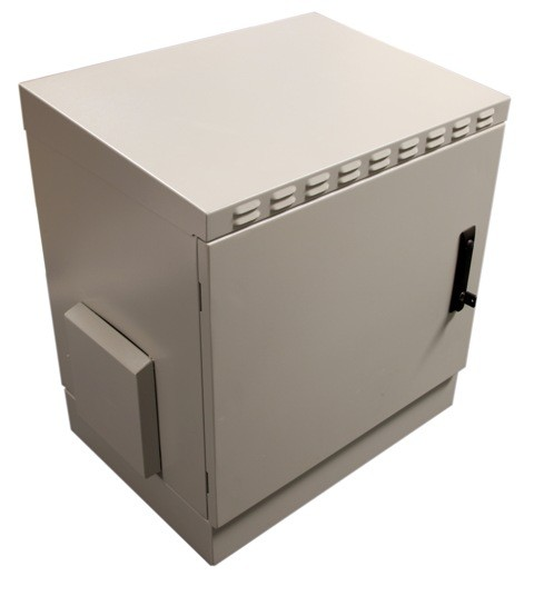 12u Outdoor Ip55 Data Rack Cabinet Wall Mount 450m