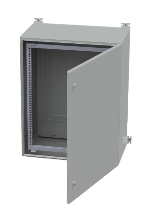 11U Outdoor IP66 Wall Mount Rack Cabinet 600mm x 350mm