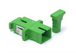 SC/APC singlemode Simplex Patchcord Ceramic Sleeve Bulkhead adaptor