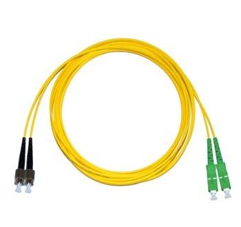 FC - SC/APC Singlemode fibre patch cord Duplex 10m