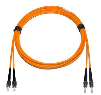 FC - ST Multimode fibre patch cord 62.5/125 OM1 Duplex 4m