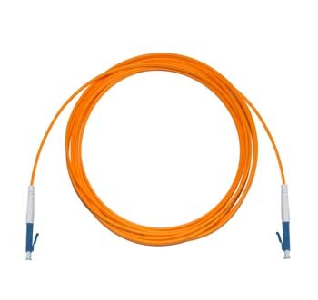 LC - LC Multimode fibre patch lead 62.5/125 OM1 Simplex 0.5m