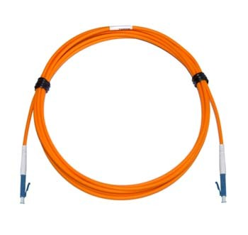 LC - LC Multimode fibre patch lead 62.5/125 OM1 Simplex 0.18m