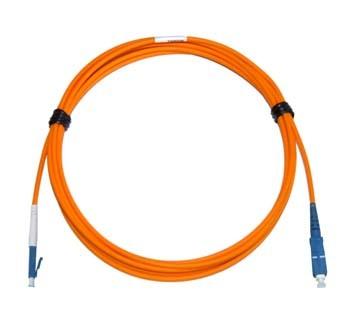 LC - SC Multimode fibre patch cord 62.5/125 OM1 Simplex 10m