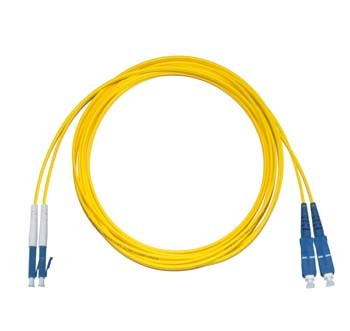 LC - SC Singlemode fibre patch lead Duplex 6m