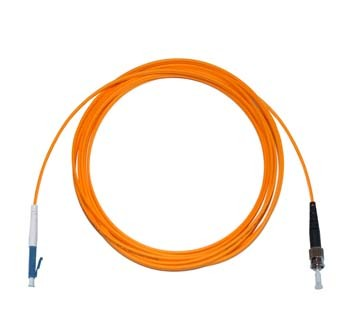 LC - ST Multimode fibre patch lead 62.5/125 OM1 Simplex 0.3m