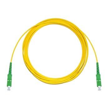 SC/APC - SC/APC Singlemode fibre patch lead Simplex 4m