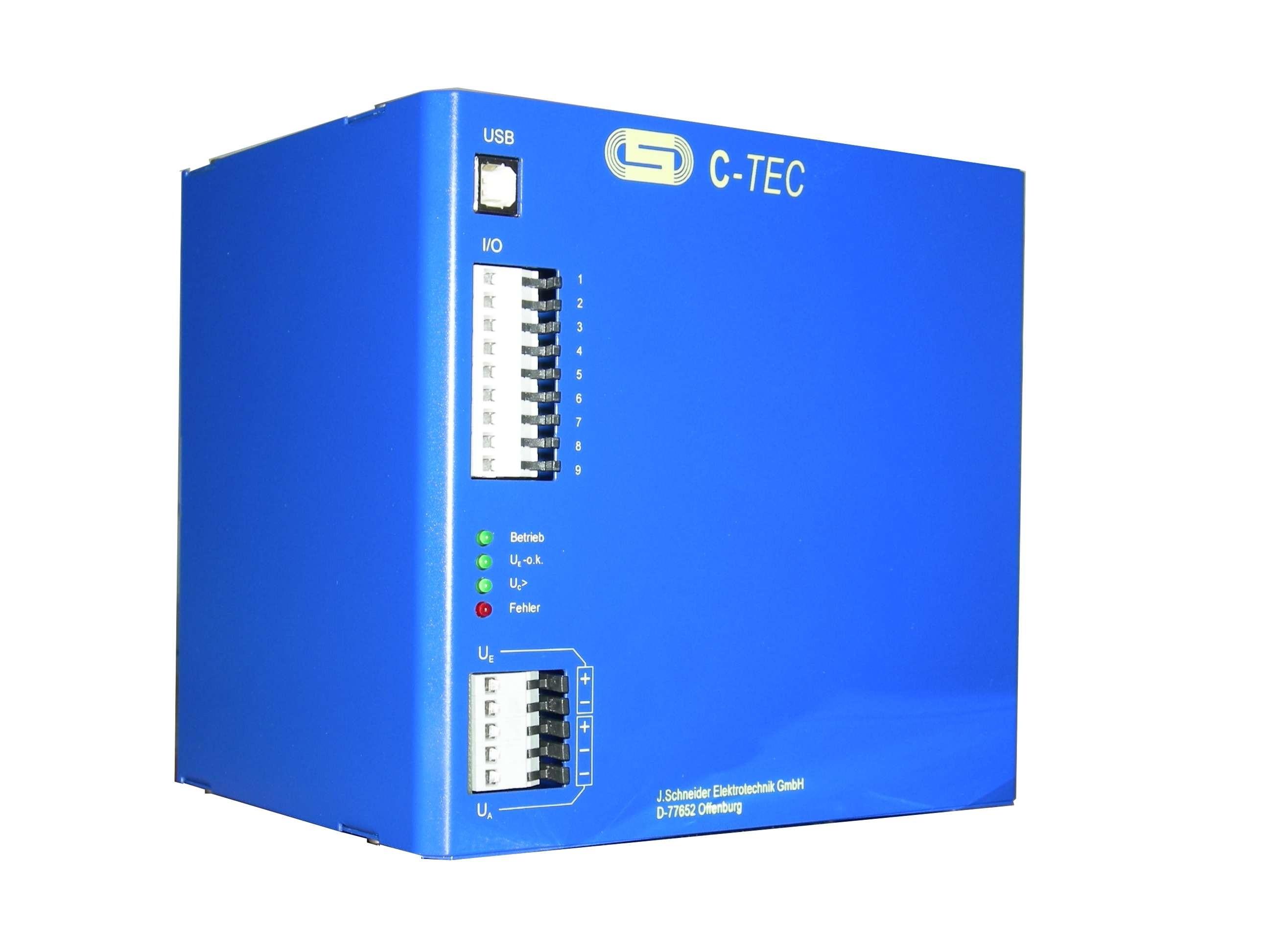 C-TEC 2408-20 20KJ 24v DC capacitor buffered power supply