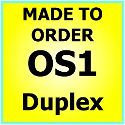 Made to order OS1 G657A Singlemode Duplex Fibre Patch Cable