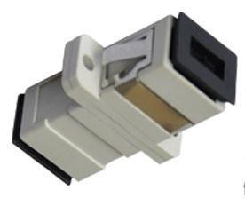 SC Fibre Coupler Adapter Multimode Simplex