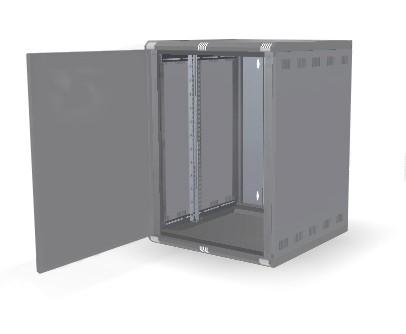 9U IP54 Wall Mount Data Cabinet| 600mm X 450mm