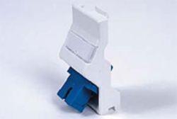 LC Singlemode Angled Fibre Module 50x25mm