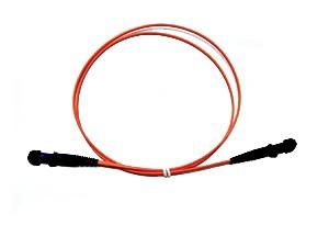 MTRJ fibre patch lead multimode 62.5/125 OM1 Duplex 1m