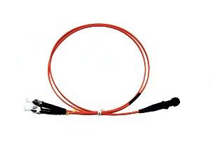 MTRJ - ST fibre patch lead multimode 50/125 OM2 Duplex 20m