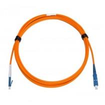 LC - SC Multimode fibre patch cord 62.5/125 OM1 Simplex 0.5m