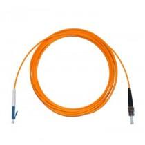 LC - ST Multimode fibre patch lead 62.5/125 OM1 Simplex 0.3m