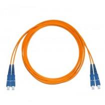SC - SC Multimode fibre patch cord 62.5/125 OM1 Duplex 0.5m