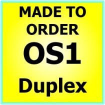 Made to order OS1 G657A Singlemode Duplex Fibre Patch Cable