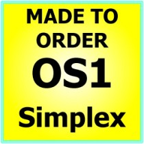 Made to order OS1 G657A Singlemode Simplex Fibre Patch Cable