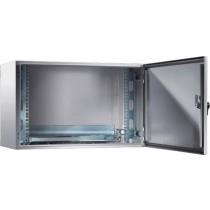 12U Outdoor IP55 Wall Mount Rack Cabinet 600mm x 350mm
