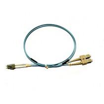 LC - SC Multimode fibre patch lead 50/125 OM3 Duplex 0.5m
