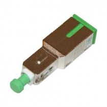 10 dB SC/APC in line Fibre Attenuator Singlemode