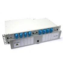 Fibre splice Patch Panel 2U 48 Way SC Singlemode - adaptors & pigtails