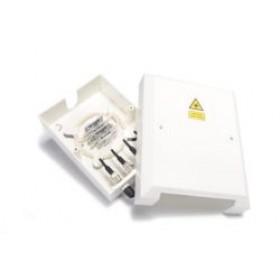 4 Way FC / ST Optical Fibre Termination Box Unloaded