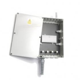 Optical fibre 24 Way ABS underfloor splice Enclosure