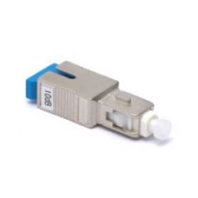 2 dB SC in line Fibre Attenuator Singlemode