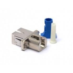Hybrid LC-SC Fibre Coupler Adapter