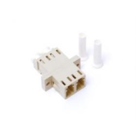 LC  Fibre Coupler Adapter Multimode Duplex