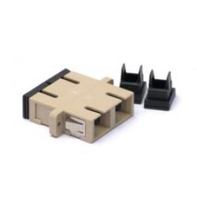 SC Dual Fibre Coupler Adapter Multimode