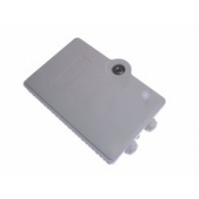 4 way Fibre optic terminal Lockable wall box