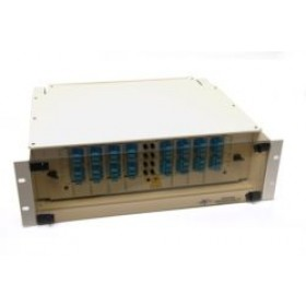 Fibre splice Patch Panel 3U 48 Way SC Singlemode - adaptors & pigtails