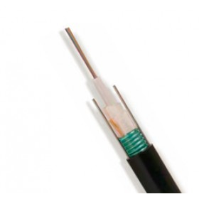 8 core CST armoured singlemode loose tube fibre cable