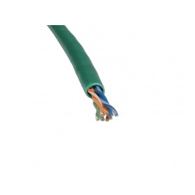 Cat5e UTP Green Patch Cable 305Mtr