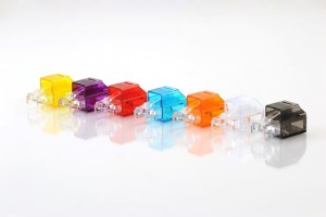 Clear Secure RJ45 Locking Port Plug