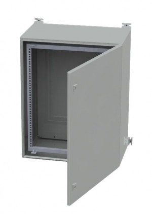14U Outdoor IP66 Wall Mount Rack Cabinet 600mm x 350mm